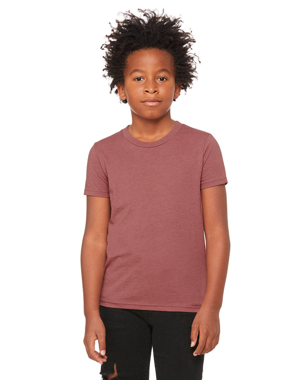 Bella + Canvas Youth Jersey T-Shirt HEATHER MAUVE