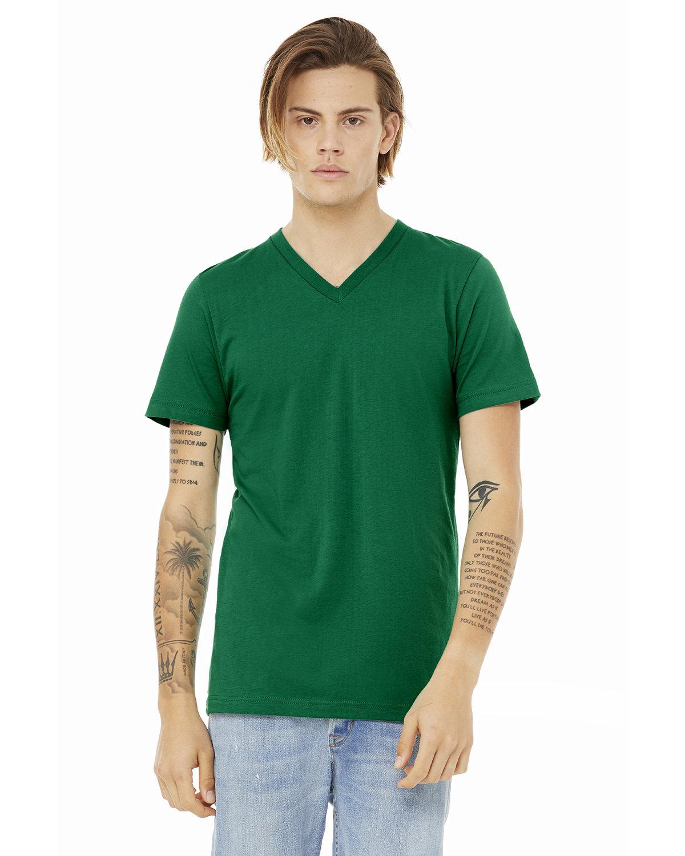 Bella + Canvas Unisex Jersey Short-Sleeve V-Neck T-Shirt KELLY
