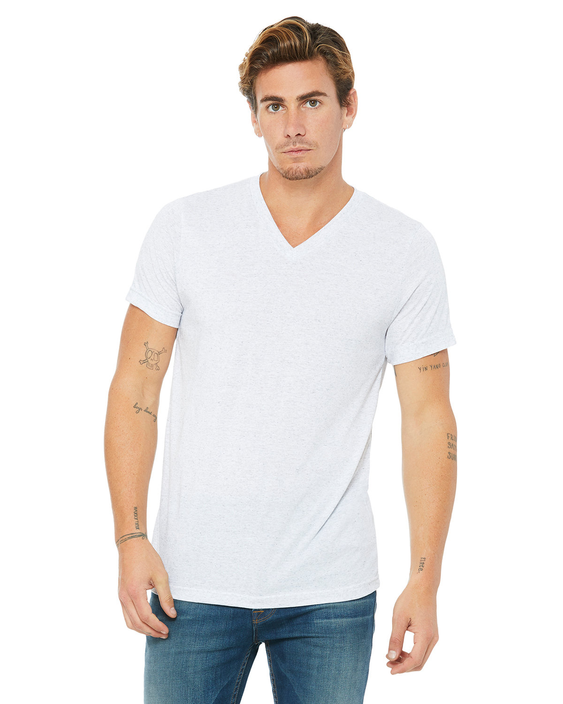 Bella + Canvas Unisex Jersey Short-Sleeve V-Neck T-Shirt ASH