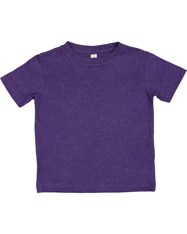 Rabbit Skins Toddler Premium Jersey T-Shirt VINTAGE PURPLE