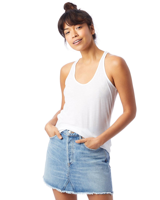 Alternative Ladies' Slinky-Jersey Tank Top WHITE