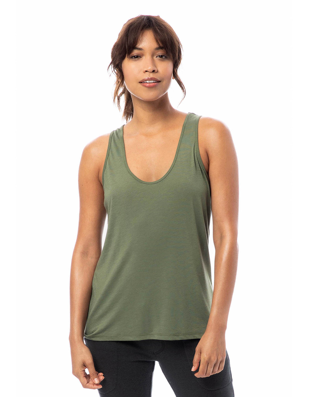 Alternative Ladies' Slinky-Jersey Tank Top ARMY GREEN