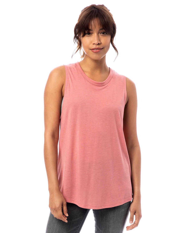 Alternative Ladies' Slinky-Jersey Muscle Tank ROSE BLOOM