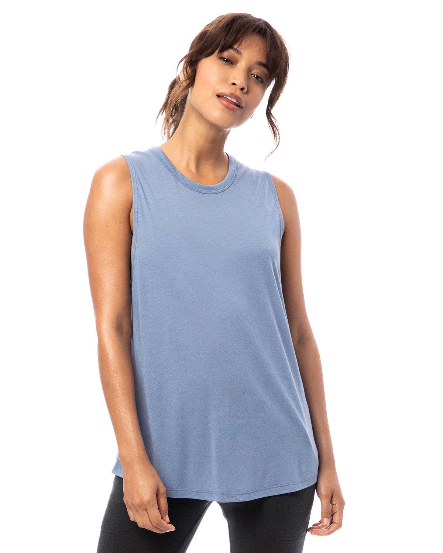 Alternative Ladies' Slinky-Jersey Muscle Tank STONEWASH BLUE