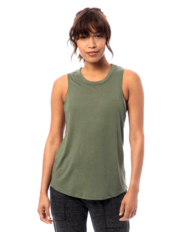 Alternative Ladies' Slinky-Jersey Muscle Tank ARMY GREEN