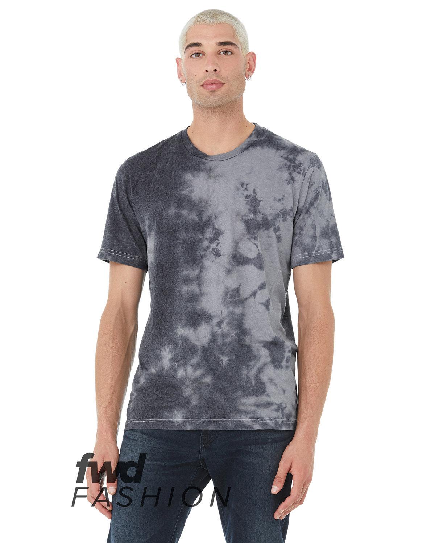 Bella + Canvas Unisex Tie Dye T-Shirt WHT/ GRY/ BL TD