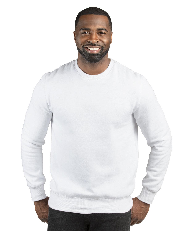 Threadfast Apparel Unisex Ultimate Crewneck Sweatshirt WHITE