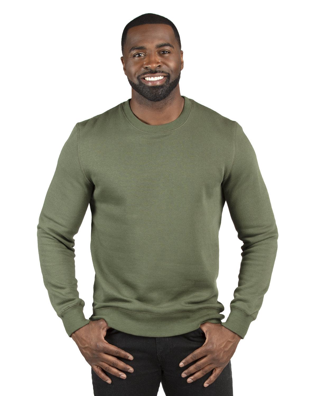 Threadfast Apparel Unisex Ultimate Crewneck Sweatshirt ARMY