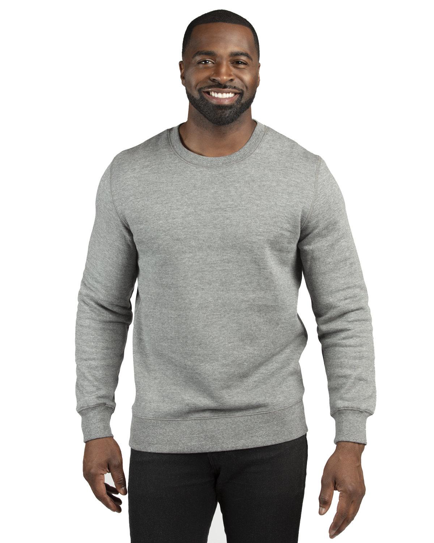 Threadfast Apparel Unisex Ultimate Crewneck Sweatshirt HEATHER GREY