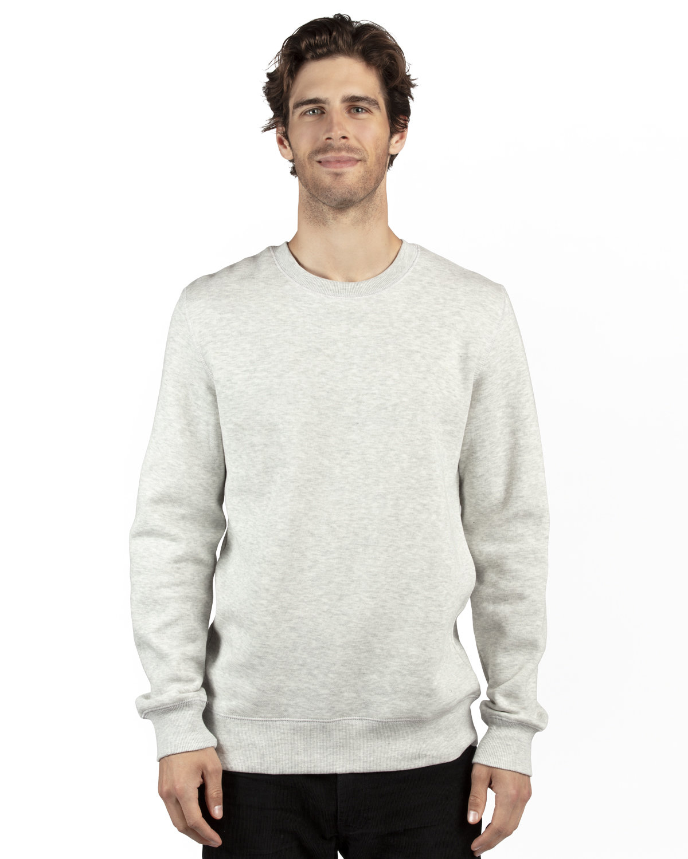 Threadfast Apparel Unisex Ultimate Crewneck Sweatshirt OATMEAL HEATHER