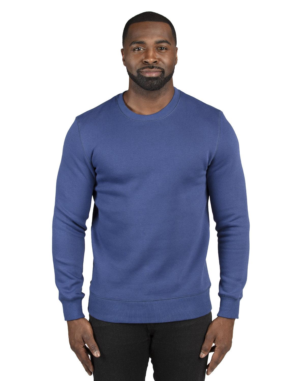 Threadfast Apparel Unisex Ultimate Crewneck Sweatshirt NAVY