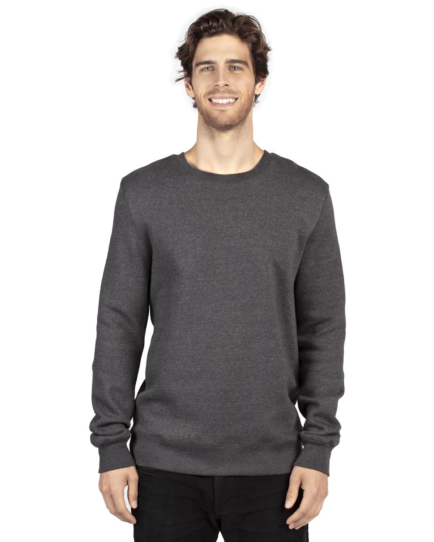 Threadfast Apparel Unisex Ultimate Crewneck Sweatshirt CHARCOAL HEATHER