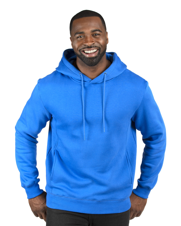 Threadfast Apparel Unisex Ultimate Fleece Pullover Hooded Sweatshirt ROYAL