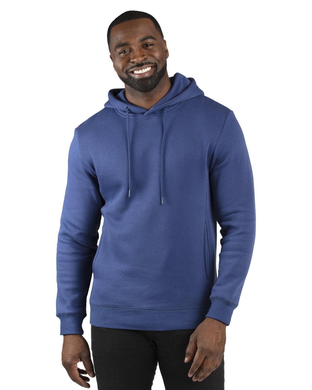 Threadfast Apparel Unisex Ultimate Fleece Pullover Hooded Sweatshirt NAVY