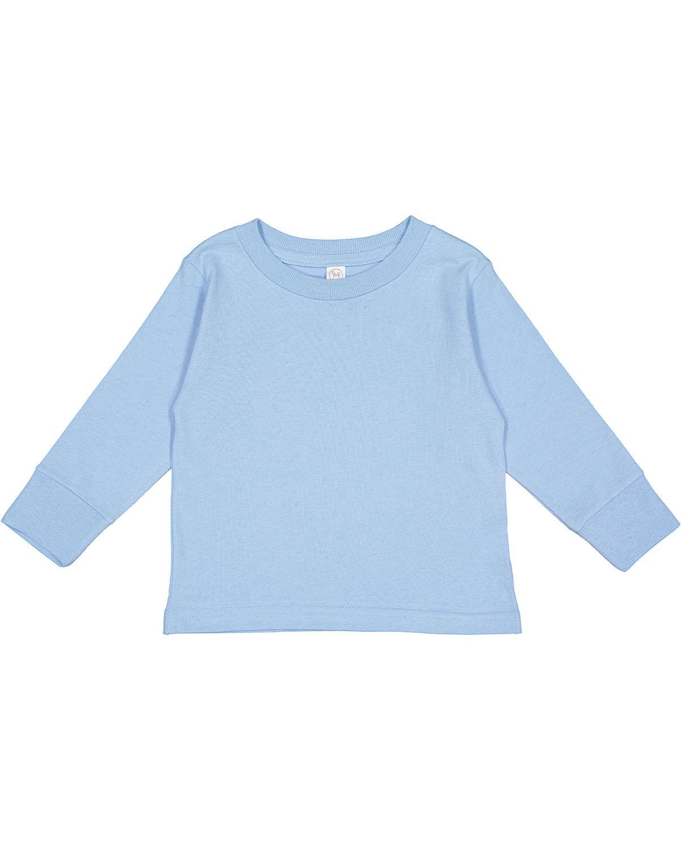 Rabbit Skins Toddler Long-Sleeve T-Shirt LIGHT BLUE