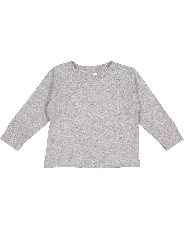 Rabbit Skins Toddler Long-Sleeve T-Shirt HEATHER