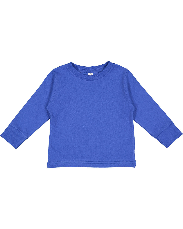 Rabbit Skins Toddler Long-Sleeve T-Shirt ROYAL