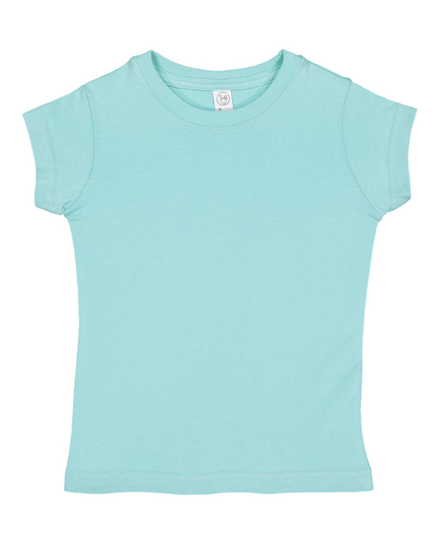 Rabbit Skins Toddler Girls' Fine Jersey T-Shirt CHILL