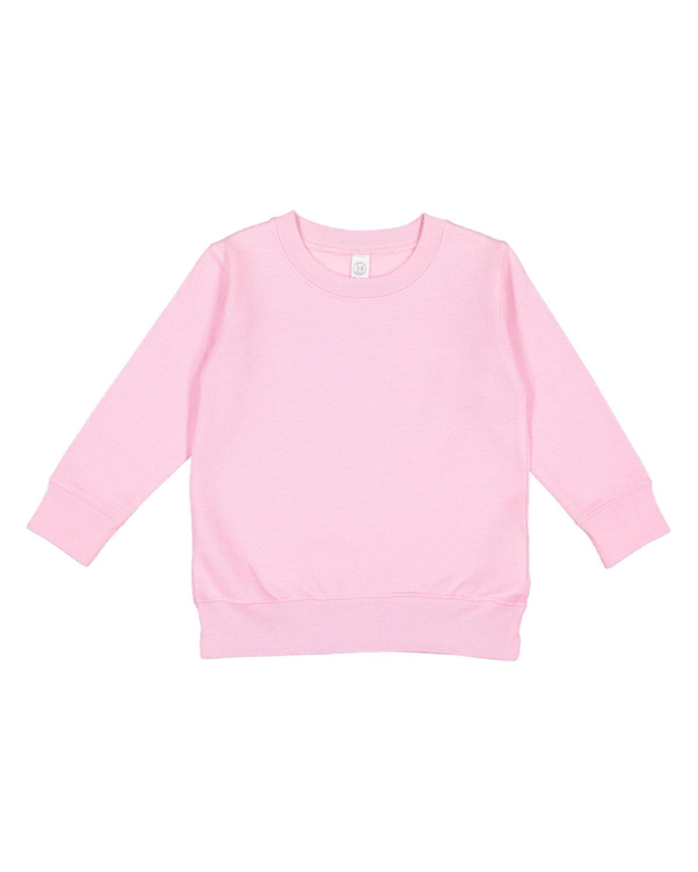 Rabbit Skins Toddler Fleece Sweatshirt PINK