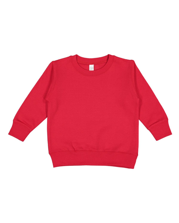 Rabbit Skins Toddler Fleece Sweatshirt RED