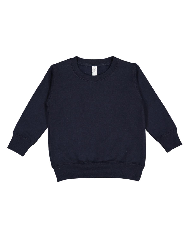 Rabbit Skins Toddler Fleece Sweatshirt NAVY
