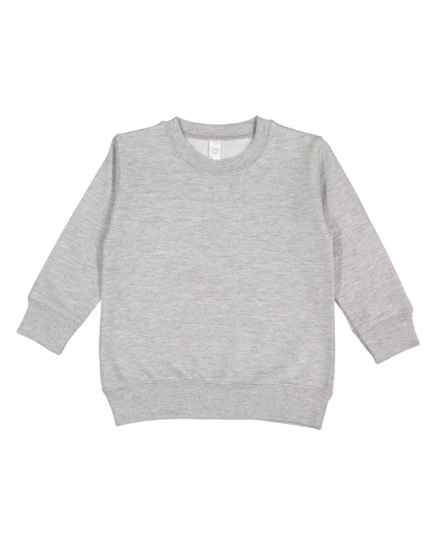 Rabbit Skins Toddler Fleece Sweatshirt HEATHER