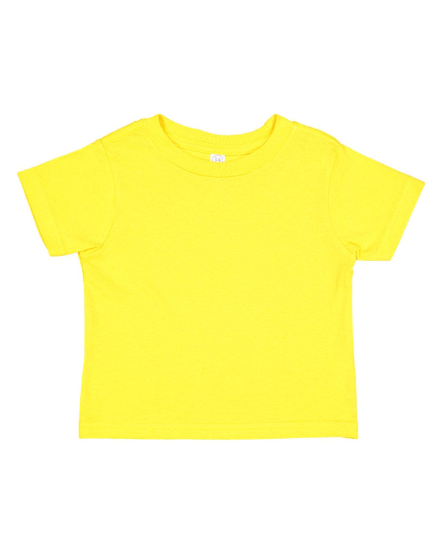 Rabbit Skins Toddler Fine Jersey T-Shirt YELLOW