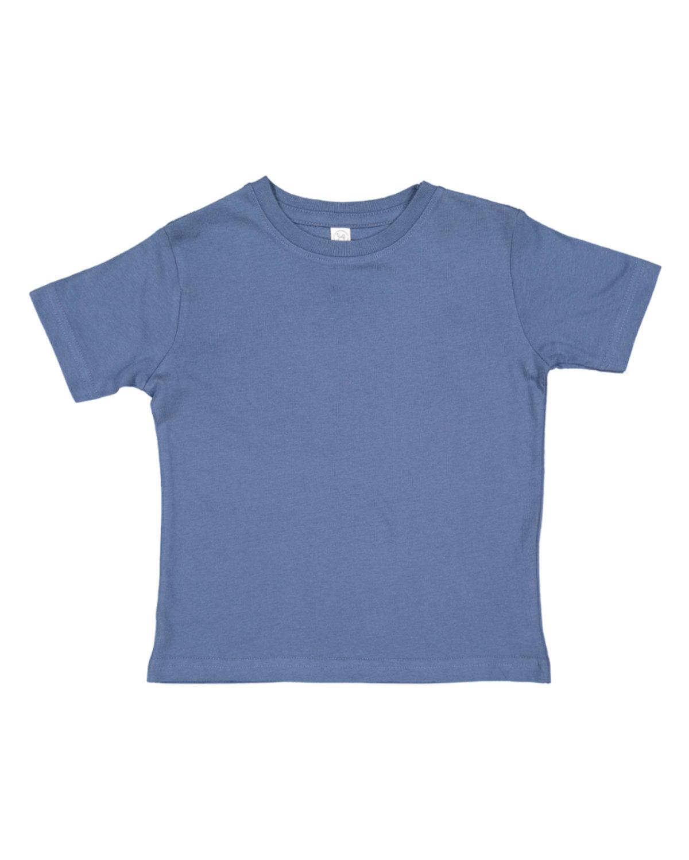 Rabbit Skins Toddler Fine Jersey T-Shirt INDIGO