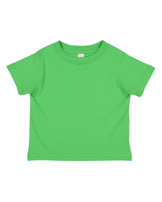 Rabbit Skins Toddler Fine Jersey T-Shirt APPLE