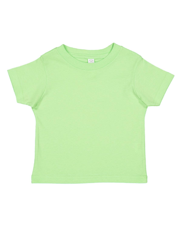 Rabbit Skins Toddler Fine Jersey T-Shirt KEY LIME