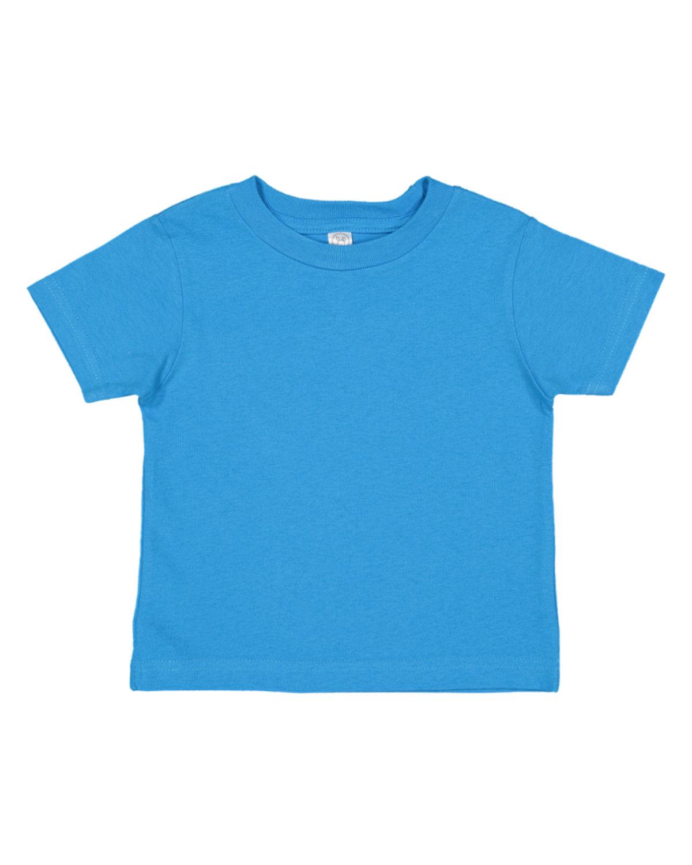 Rabbit Skins Toddler Fine Jersey T-Shirt COBALT