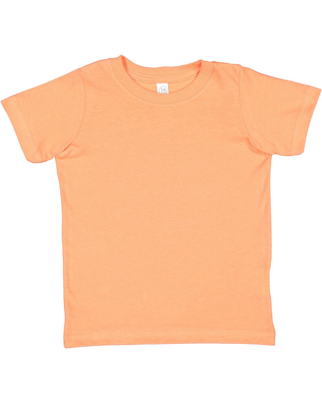 Rabbit Skins Toddler Fine Jersey T-Shirt PAPAYA