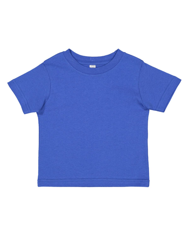 Rabbit Skins Toddler Fine Jersey T-Shirt ROYAL