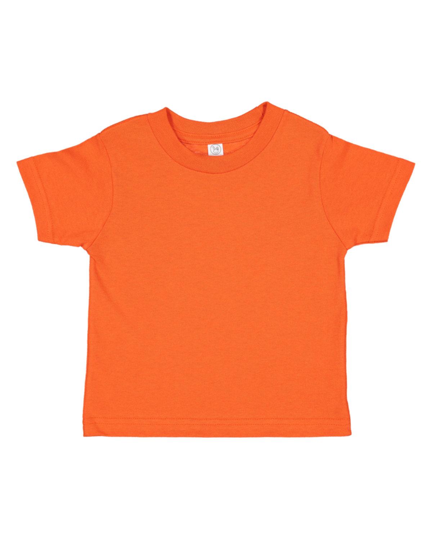 Rabbit Skins Toddler Fine Jersey T-Shirt ORANGE
