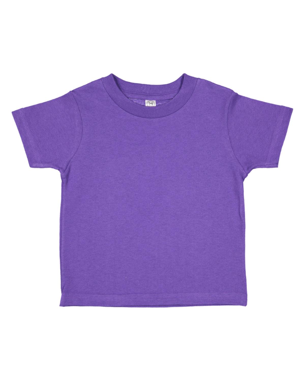 Rabbit Skins Toddler Fine Jersey T-Shirt PURPLE