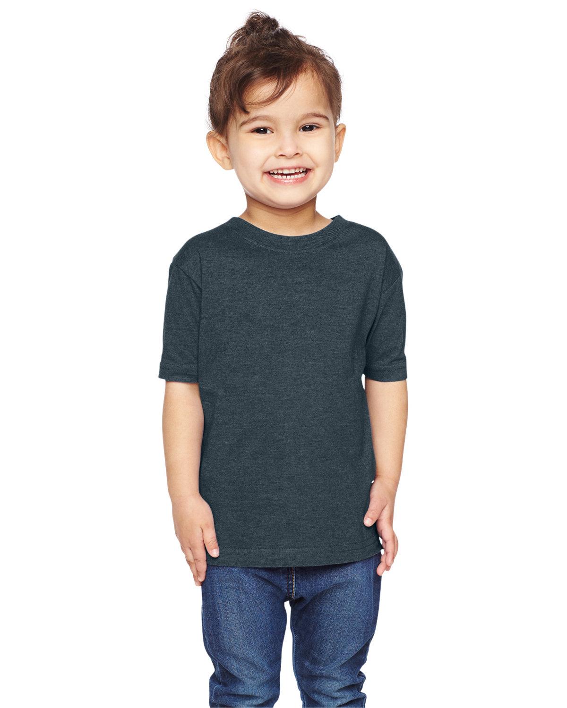 Rabbit Skins Toddler Fine Jersey T-Shirt VINTAGE NAVY