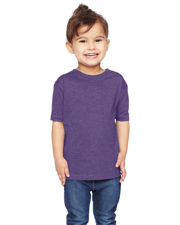Rabbit Skins Toddler Fine Jersey T-Shirt VINTAGE PURPLE