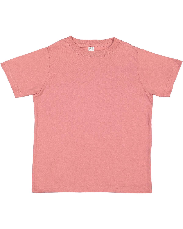 Rabbit Skins Toddler Fine Jersey T-Shirt MAUVELOUS