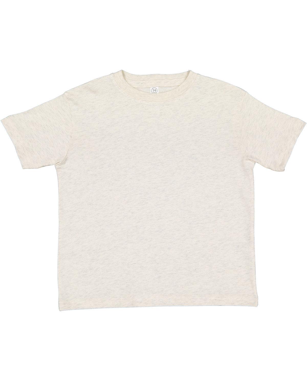 Rabbit Skins Toddler Fine Jersey T-Shirt NATURAL HEATHER