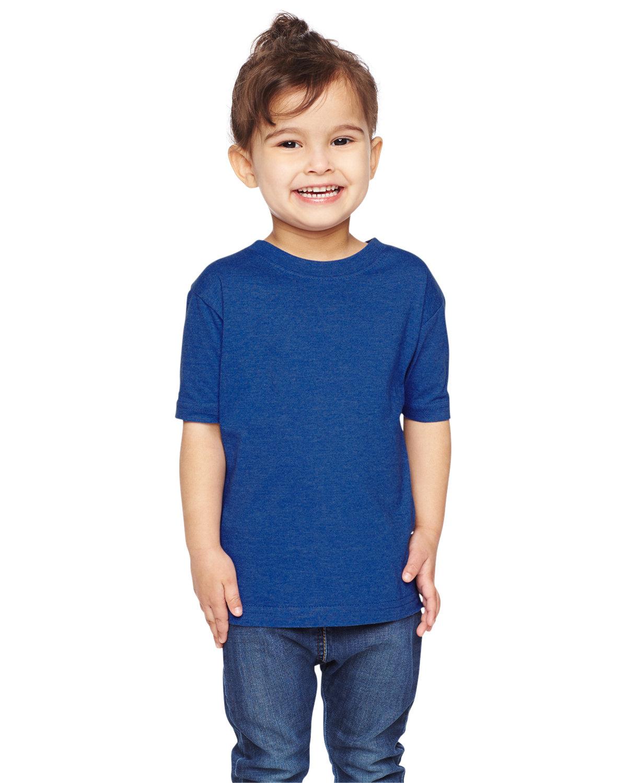 Rabbit Skins Toddler Fine Jersey T-Shirt VINTAGE ROYAL