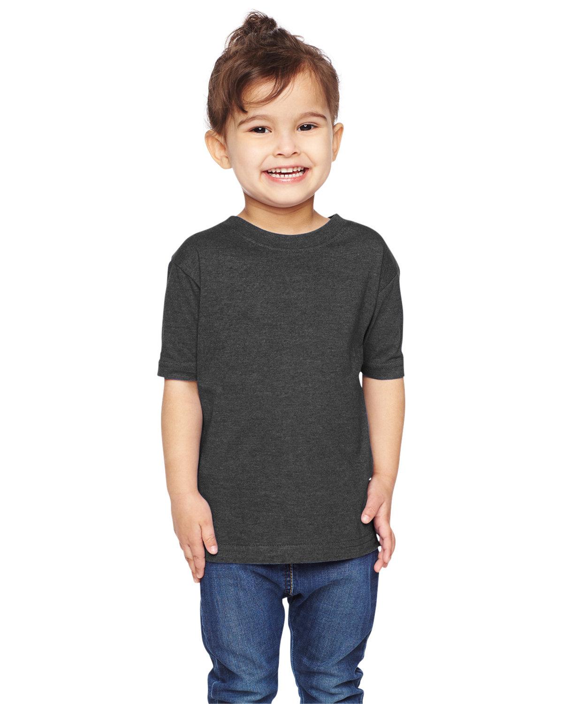 Rabbit Skins Toddler Fine Jersey T-Shirt VINTAGE SMOKE