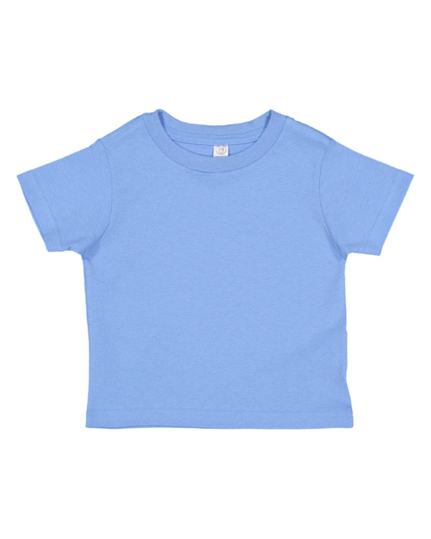 Rabbit Skins Toddler Fine Jersey T-Shirt CAROLINA BLUE