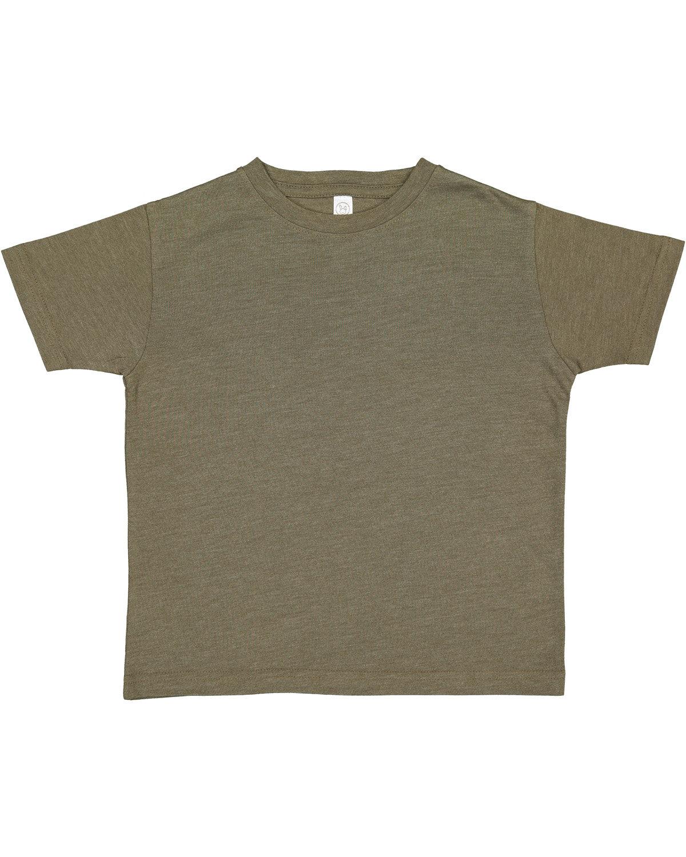 Rabbit Skins Toddler Fine Jersey T-Shirt VNT MILITARY GRN