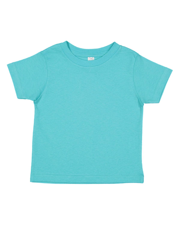 Rabbit Skins Toddler Fine Jersey T-Shirt CARIBBEAN