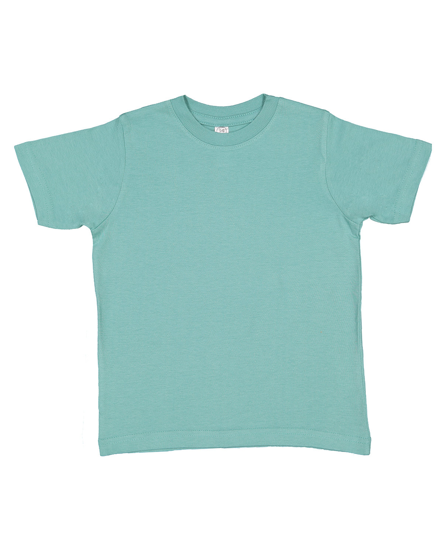 Rabbit Skins Toddler Fine Jersey T-Shirt SALTWATER