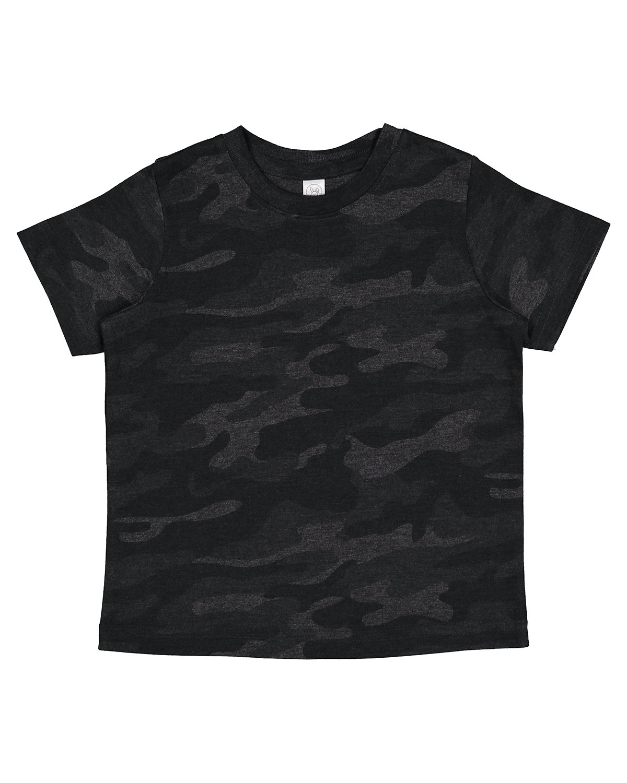 Rabbit Skins Toddler Fine Jersey T-Shirt STORM CAMO