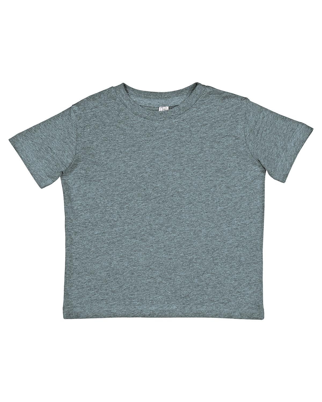 Rabbit Skins Toddler Fine Jersey T-Shirt ICE BLACKOUT