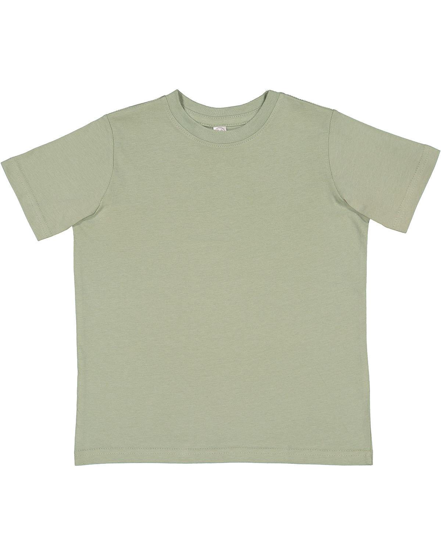 Rabbit Skins Toddler Fine Jersey T-Shirt SAGE