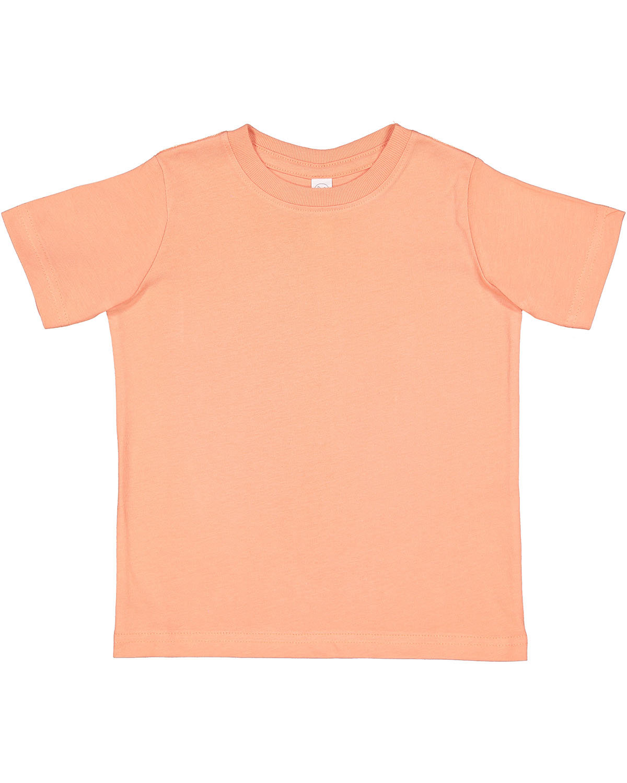 Rabbit Skins Toddler Fine Jersey T-Shirt SUNSET