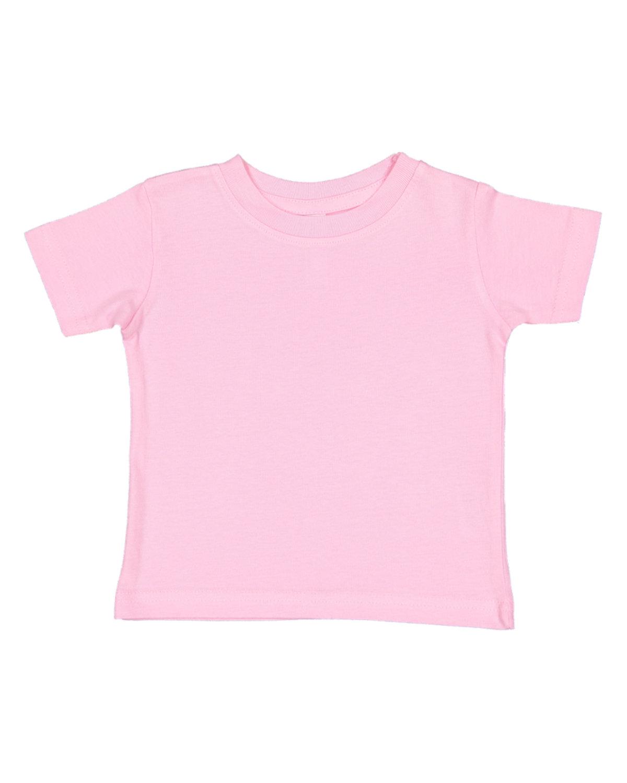 Rabbit Skins Infant Fine Jersey T-Shirt PINK